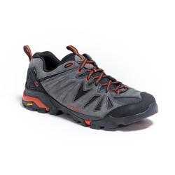 Waterdichte wandelschoenen voor heren Capra grijs/oranje