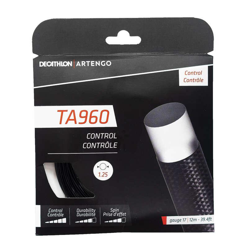 TENNIS STRINGS Squash - TA 960 Control 1.25 mm ARTENGO - Squash