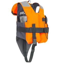 Kids Life Jacket 100N LJ EASY orange/grey