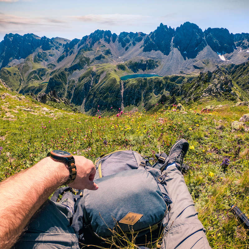 SEYAHAT ÇANTALARI 40 L VE ÜZERİ Hiking, Trekking, Outdoor - TRAVEL 500 SIRT ÇANTASI FORCLAZ - Hiking, Trekking, Outdoor