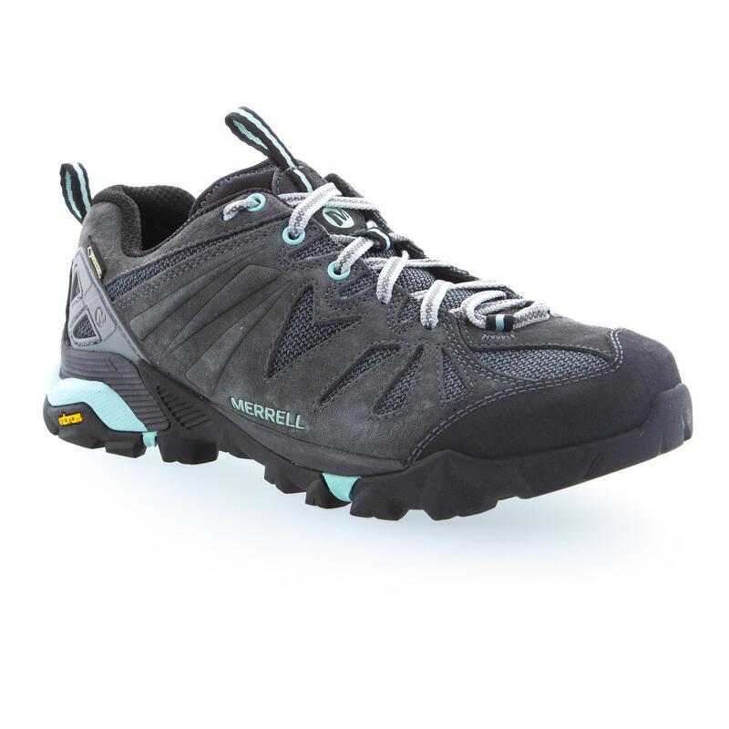 Zapatillas Impermeables de Montaña y Trekking, MERRELL, CAPRA Gore-Tex, Mujer