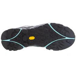 Waterdichte bergwandelschoenen voor dames Capra grijs/oranje