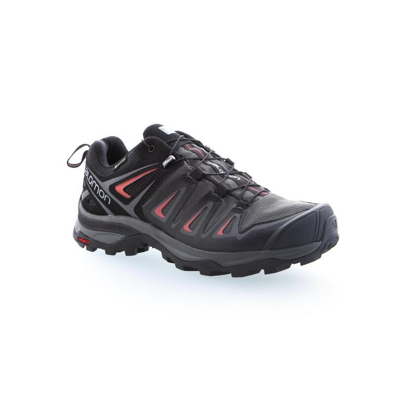 Zapatillas Salomon X-Ultra de Montaña y Trekking Mujer Goretex Gris