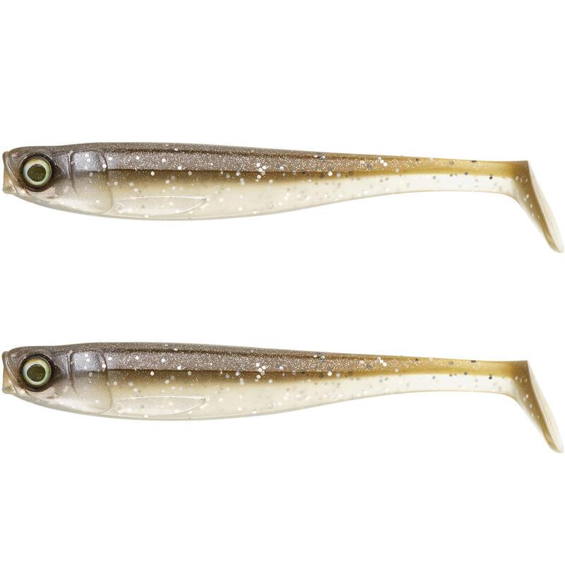 Nălucă flexibilă ROGEN 120 pescuit cu năluci galben X2