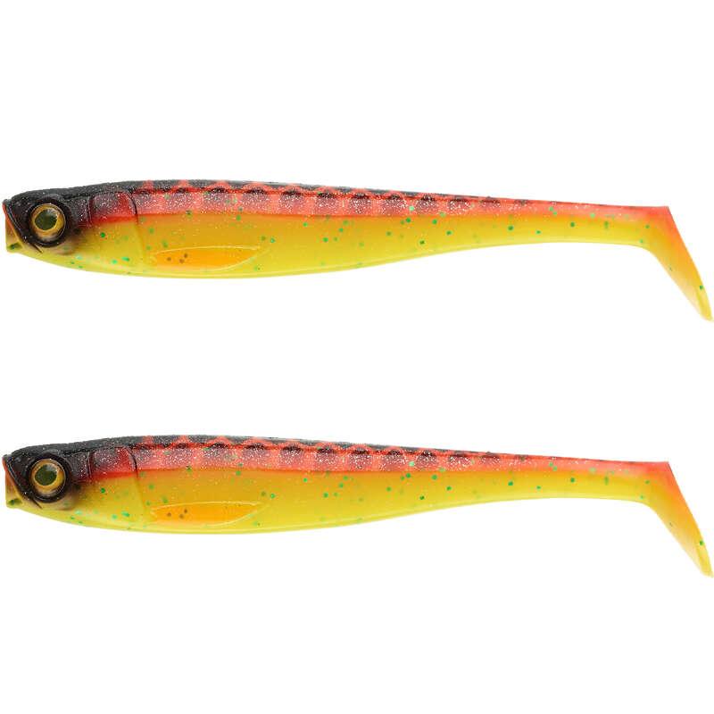 MĚKKÉ NÁSTRAHY NAD 10 CM Lov dravých ryb - NÁSTRAHA ROGEN 160 ORANGE 2 KS CAPERLAN - Nástrahy