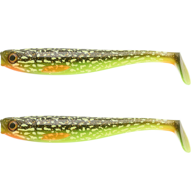 Kit pesca artificiali morbidi luccio ROGEN 160 FIREPIKE X2