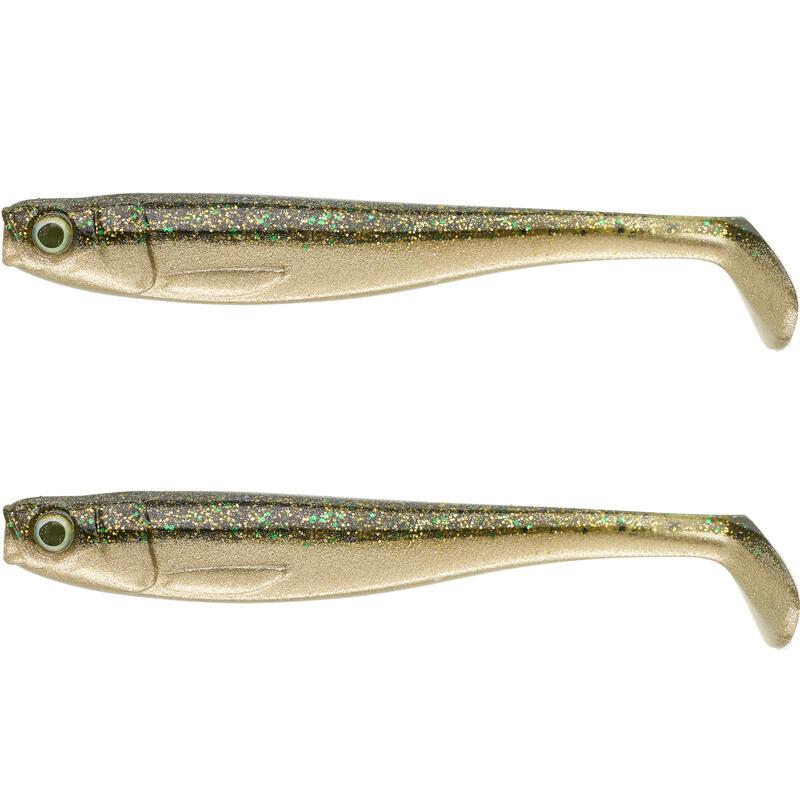 Nălucă flexibilă ROGEN 120 pescuit cu năluci Verde X2