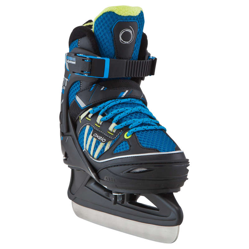 JUNIOR FITNESS ICE SKATES - Fit 5 Boy OXELO
