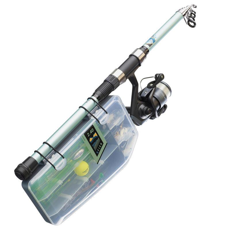 Set UFISH 240 Pescuit (Nivel Începător)