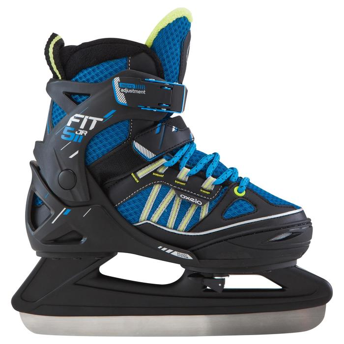 Patin à glace enfant FIT 5 BOY bleu - 181201