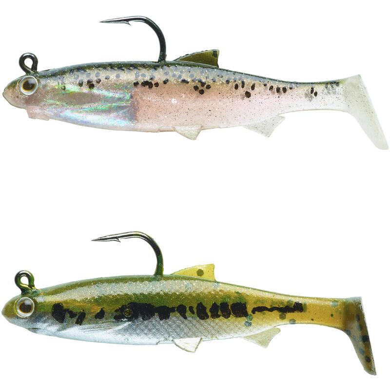 MĚKKÉ NÁSTRAHY NA LOV OKOUNŮ A PSTRUHŮ Lov dravých ryb - SADA ROACH RTC 60  CAPERLAN - Nástrahy a bižuterie