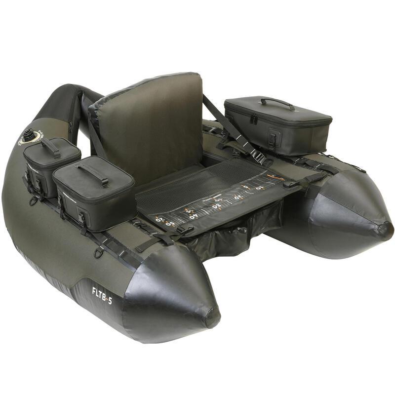 LURE FISHING FLOAT TUBE FLTB-5 - KHAKI / BLACK