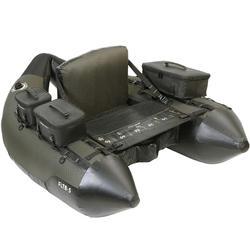 Belly-boat pesca artificiali FLTB-5 verde militare / nero