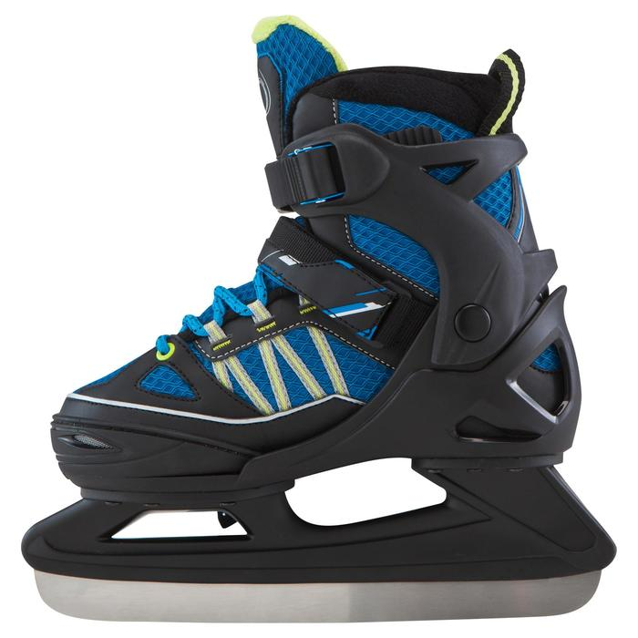 Patin à glace enfant FIT 5 BOY bleu - 181204