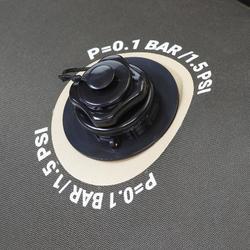 FLOAT TUBE PARA PESCA COM AMOSTRAS FLTB-5 CAQUI/PRETO