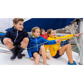 兒童款航海防水外套Sailing 100-薄荷綠
