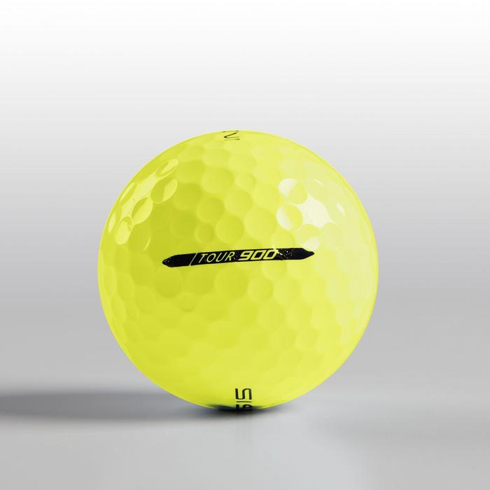 BALLE DE GOLF TOUR 900 X12 JAUNE