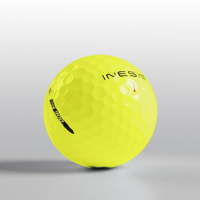 BALLE GOLF TOUR 900 X12 JAUNE