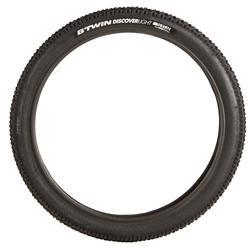 Buitenband voor kinderfiets draadband skinwall 16x1.60 / ETRTO 40-305 zwart