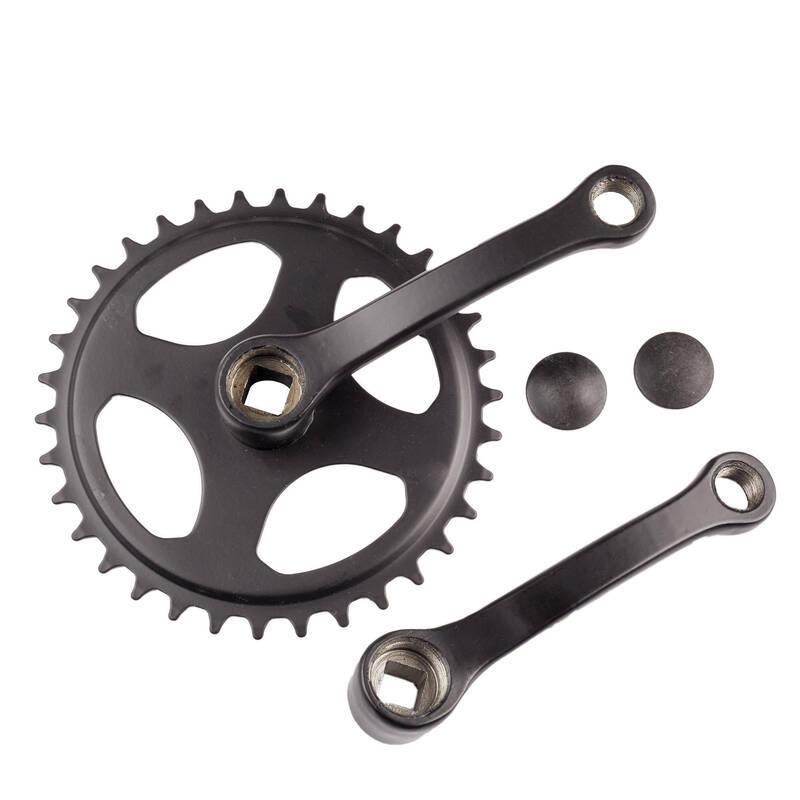 PŘEVODY DĚTSKÁ KOLA Cyklistika - JEDNOPŘEVODNÍK 34 zubů 114 MM BTWIN - Náhradní díly a údržba kola