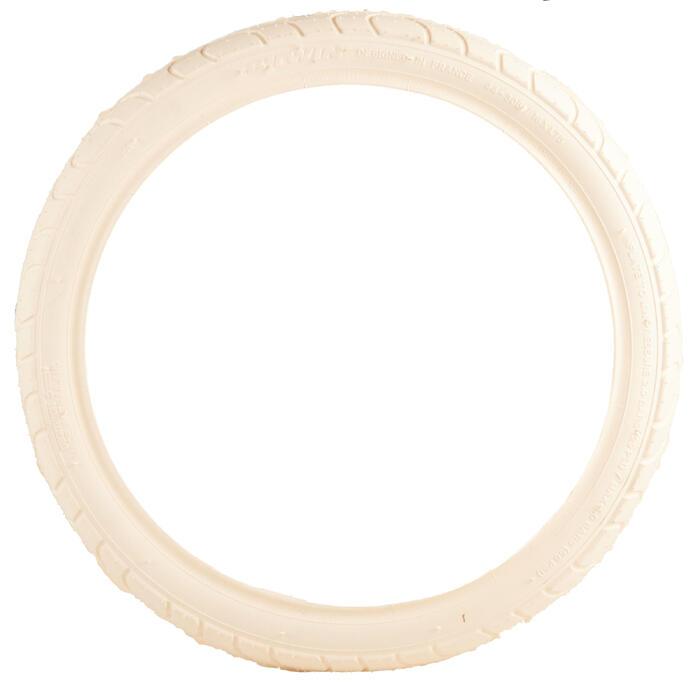 Buitenband voor kinderfiets draadband 16x1.75 / ETRTO 47-305 beige