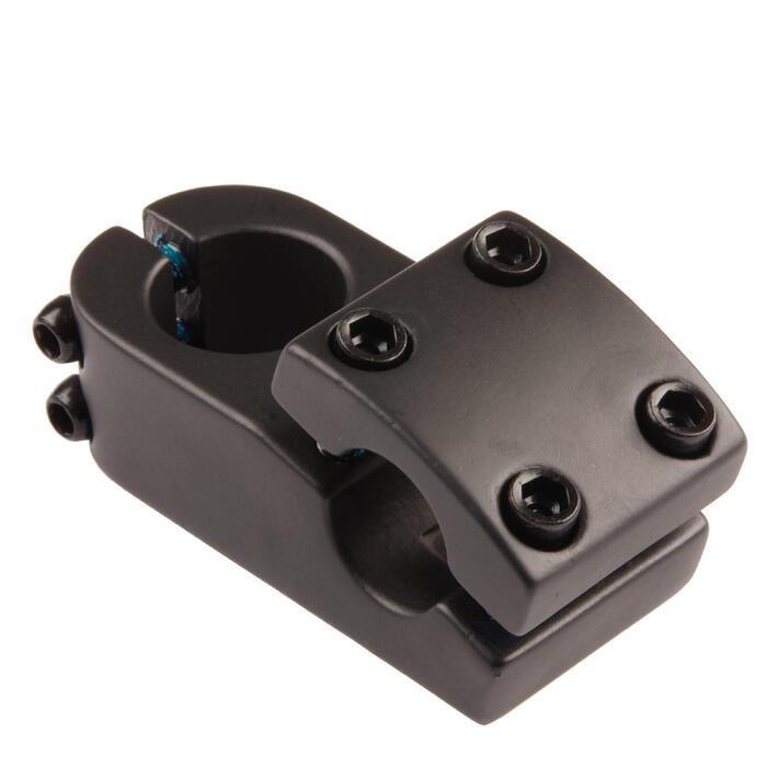 Potence BMX aheadset 1 1/8 pouce 50 mm pour cintre de 22.2 mm de diamètre noir
