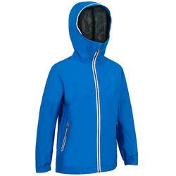 Zeiljas - regenjas voor kinderen Sailing 100 felblauw