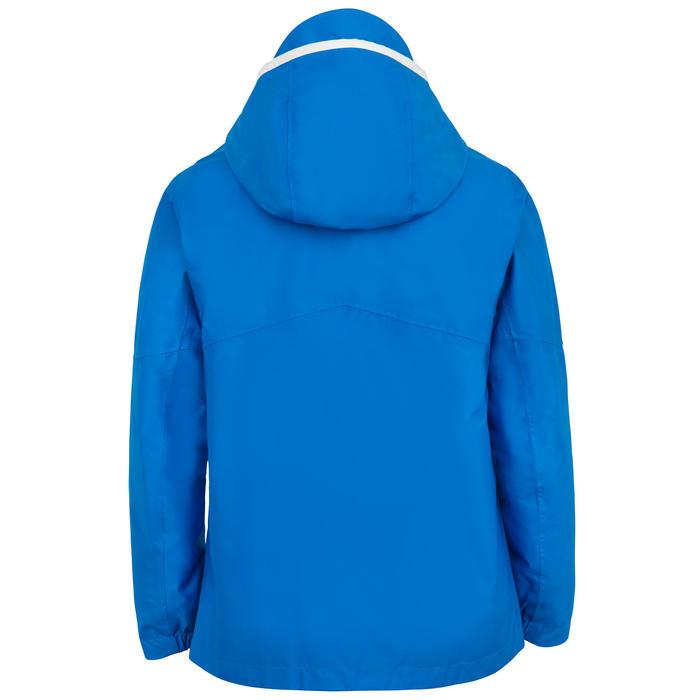 Veste imperméable de voile Enfant SAILING 100 Bleu vif
