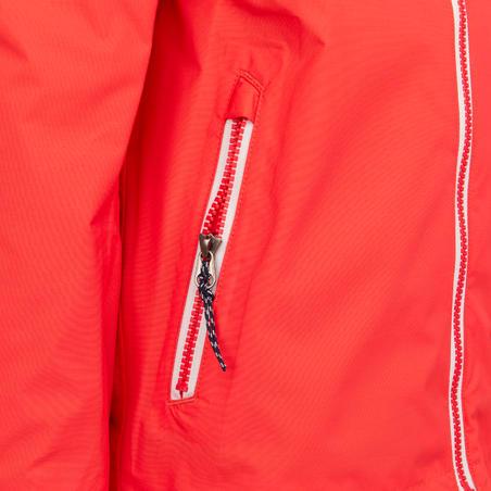 Kid's waterproof sailing jacket SAILING 100 - Pink