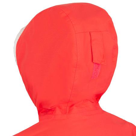 Veste imperméable de voile - veste de pluie SAILING 100 Enfant Rose