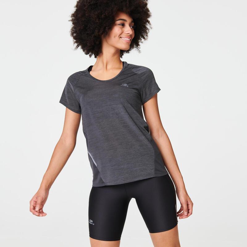 Kadın Gri Tişört / Koşu - RUN LIGHT