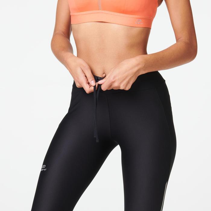 女款緊身褲RUN DRY-黑色