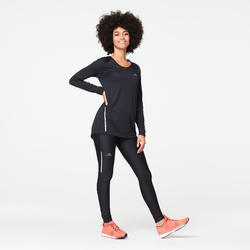 Women's Running Tights Run Dry - black