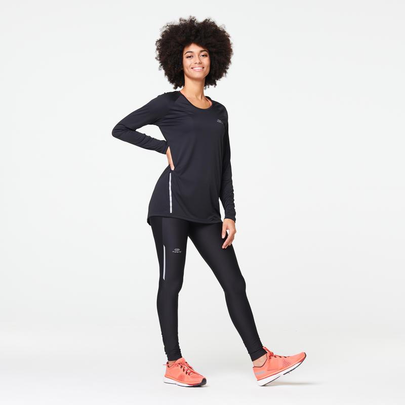 Women's Running Tights Run Dry - black