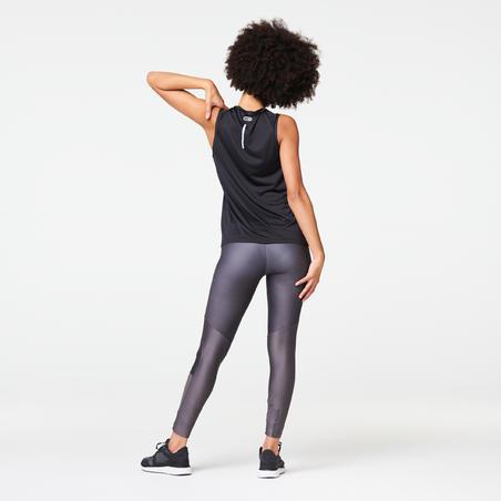 RUN DRY WOMEN'S TANK TOP - BLACK