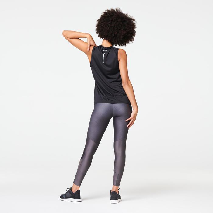 WOMEN'S RUN DRY + FEEL RUNNING TIGHTS - GREY