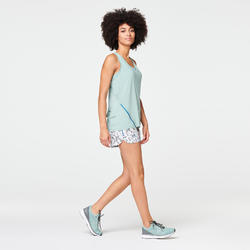 Joggingtopje voor dames Run Light kaki