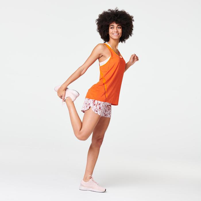Joggingtopje voor dames Run Light oranje