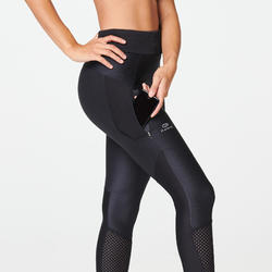 COLLANT JOGGING FEMME RUN DRY + FEEL NOIR