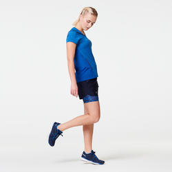 RUN LIGHT WOMEN'S T-SHIRT - BLUE
