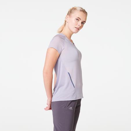 WOMEN'S RUN LIGHT T-SHIRT - LAVENDER