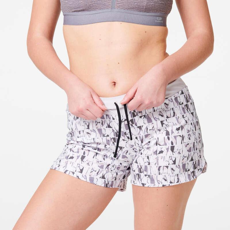 ABBIGLIAMENTO TRASPIRANTE DONNA Running, Trail, Atletica - Pantaloncini donna RUN DRY KALENJI - Abbigliamento Running
