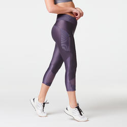 Joggingkuitbroek voor dames Run Dry+ Feel paars