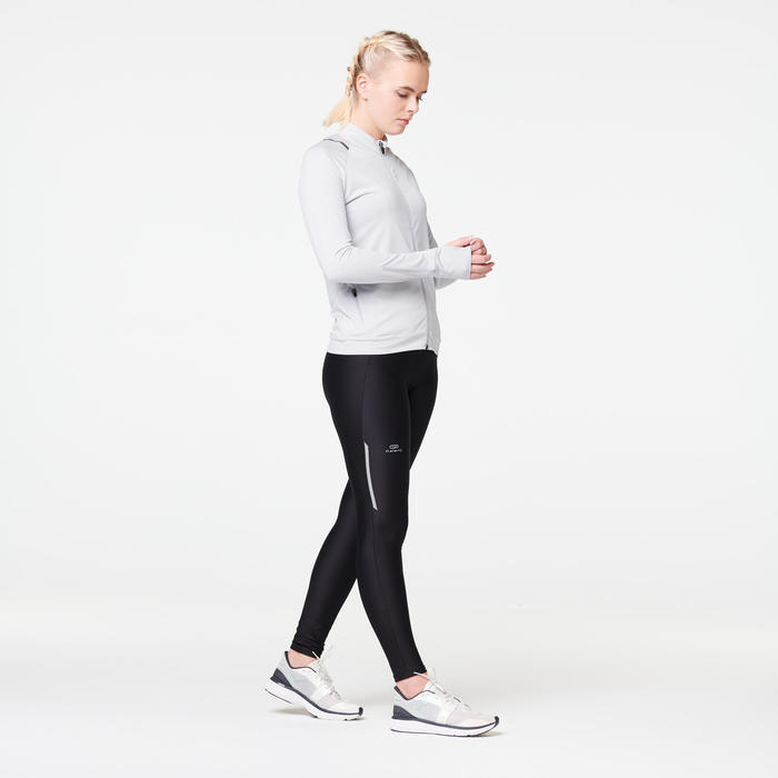 RUN DRY WOMEN'S JACKET - PALE GREY