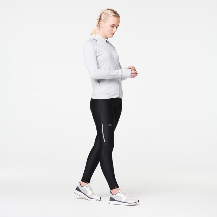 女款跑步外套RUN DRY - 灰色