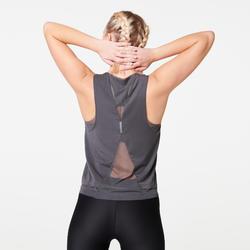 WOMEN'S RUN FEEL RUNNING TANK TOP - ANTHRACITE GREY