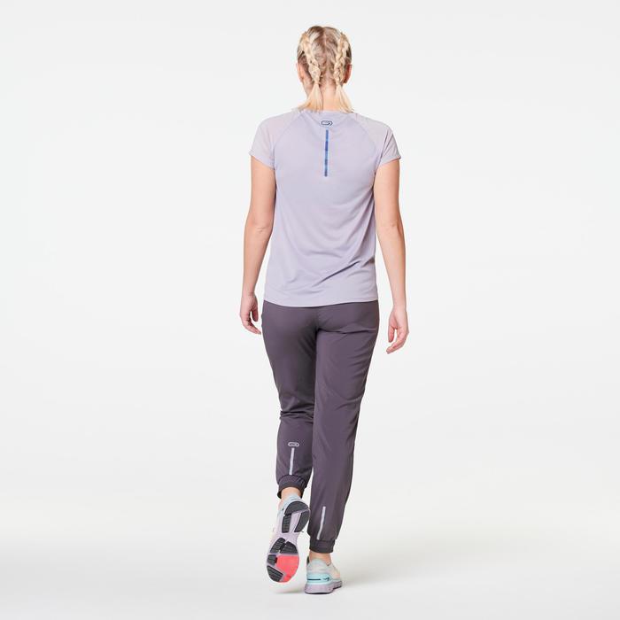 女款T恤RUN LIGHT - 淡紫色