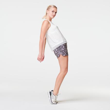 RUN DRY WOMEN'S RUNNING SHORTS - ANTHRACITE GREY