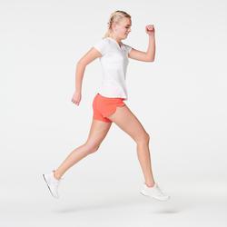 SHORT JOGGING FEMME RUN DRY ROSE CORAIL