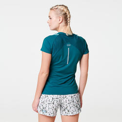 Joggingshirt voor dames Run Dry+ turkoois